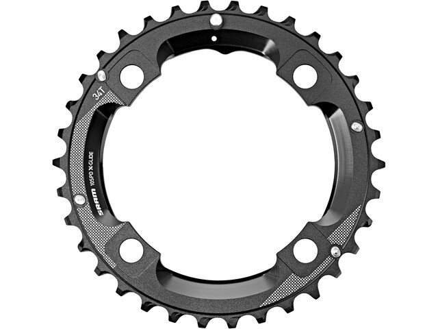 SRAM MTB GX Corona dentata 10 velocità M-Pin 104mm, black